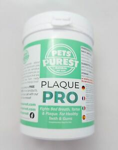 Plaque Pro - Pets Purest keep your pets teeth clean no brushing reduce plaque