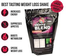Skinny Blend, Best Tasting Weight Loss Shake for Women, Low Carb Diet, 30 Shakes