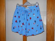 NEXT - Girls Blue Ladybird Lined Summer Skirt - Size 9 Years