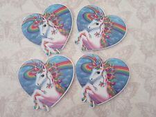 Unicorn Planar FlatBack Cabochon Heart Phone Case Decoden Kawaii Craft Supply