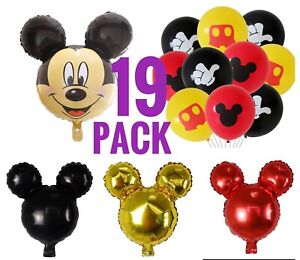 DalvayDelights #3 3rd Third 26 Mid Size Mickey Mouse Forever Birthday Party Mylar Balloon