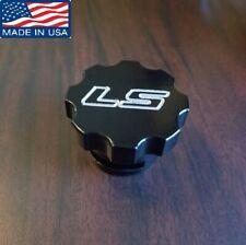 LS Oil Cap GM oil Cap CNC Machined Billet Aluminum LS1 LS2 LSX LS swapped Black