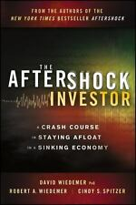 The Aftershock Investor by David Wiedemer Hardcover Book Saving Money W/ CD