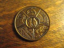 Bush Gardens Bronze Coin - Vintage 1980's Dark Continent Amusement Park Souvenir