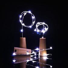 15LED Chic Cork Shaped Night Light Starry Light Wine Bottle Lamp For Xmas Decor
