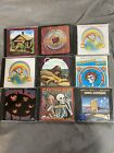 the grateful dead 9 cd lot bundle rock wake of the flood in the dark Skeletons