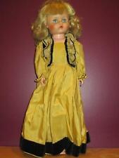 "Uneeda vintage 21"" doll Country Girl doll pretty"
