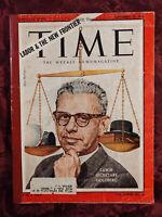 TIME magazine September 22 1961 Sept Sep 61 LABOR ARTHUR J GOLDBERG +++