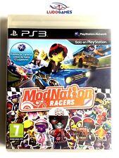 Modnation Racers PS3 Playstation Nuevo Precintado Retro Sealed New PAL/SPA