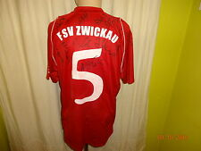 FSV Zwickau Nike Heim Matchworn Trikot 2005/06 +  Nr.5 + Handsigniert Gr.L