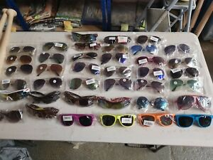 Wholesale Sunglasses Joblot 30 pairs. New. Clearance stock aviator cycling