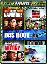 Bridge on the River Kwai/ Caine Mutiny/ Guns of Navarone/ From Here to ...+ NEW