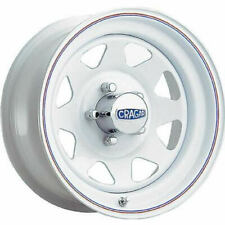4 - 16x8 White Wheel Cragar 310 Nomad 8x6.5 0