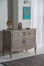 Bourdeilles 2 Door Sideboard Cupboard Cabinet Solid Shabby Chic in Mango