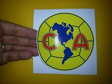 """BEST PRICE! LOT OF 10 SOCCER DECAL / STICKER CLUB AMERICA  MEXICO 5"""" X 5"""""""