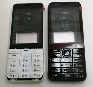 Full Body Housing Cover and Keypad Keyboard FOR Nokia 230 230ds RM-1172 RM-1126