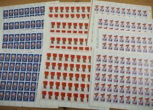 1973 Rumänien; 3 Einzelwerte je 200 mal postfrisch/MNH, MiNr. 3123/25, ME 560,-