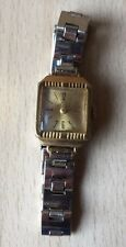 Vintage Collectible Russian Women's Mechanical Wristwatch LUCH Gold Plated Watch