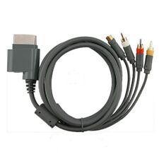 XBOX 360 A/V Composite S-Video 4 RCA Audio Video Cable Cord