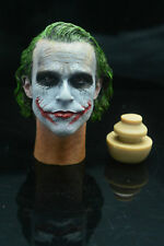 Custom Joker MJ12 1/6 Head Sculpt for Hot Toys DX01 DX11 Narrow Shoulder Body