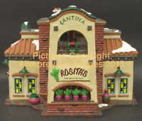 Snow Village Dept 56 ROSITA'S CANTINA! 54883 NeW! MINT! FabULoUs!