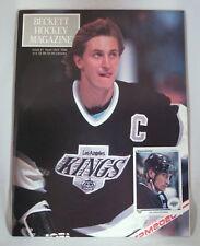 Beckett Hockey Magazine #1 Sept/Oct 1990 Wayne Gretzky