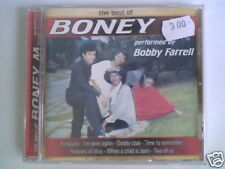 BOBBY FARRELL The best of Boney M cd ITALY UNIQUE NUOVO