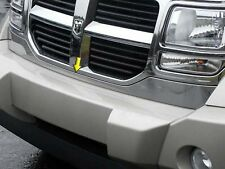 2007-2011 DODGE NITRO 1 Piece Stainless Steel Front Grille Accent Trim