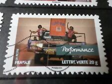 FRANCE 2013, timbre  AUTOADHESIF 810, RALLYE AICHA VOITURES oblitéré, VF STAMP