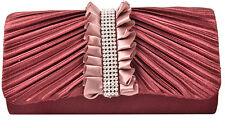 Abendtasche Strass Damentasche Tasche Clutch Hochzeit Brauttasche Handtasche Neu