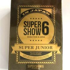 SUPER JUNIOR SUPER SHOW 6 in Japan First limited 3DVD+Photobook K-POP DONGHAE