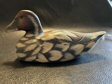 Vintage Wooden Duck Decoy - small - Estate Find