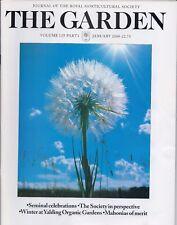 RHS THE GARDEN Magazine - January 2000