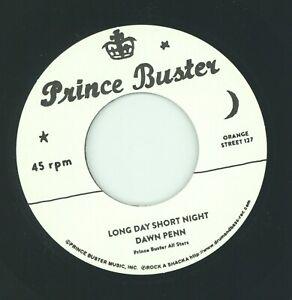 """ LONG DAY SHORT NIGHT. ""  dawn penn. PRINCE BUSTER 7in."