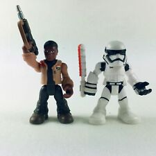Playskool Star Wars Galactic Heroes Finn (Jakku) and Stomtrooper Set Xmas Gift