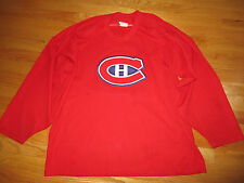CCM Maska Air-Knit MONTREAL CANADIENS No. 11 (LARGE) Jersey RED