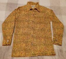 New listing Vintage Jantzen 100 1970's Wide Collar Men's Shirt size Medium