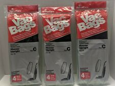 Lot of 3 Type C Hoover Upright Vac Bags Vacuum Cleaner Bags 4 bags each pack #18