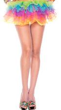 1-4 PC Fishnet Net Glitter Sparkle Spandex Pantyhose Tights Shimmer Gold Silver