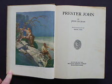"""Prester John""-Buchan-1938 CR-6 Full-Page Color Illustrations by Henry Pitz"