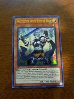 YuGioh Protector with Eyes of Blue NM (Unlimited Ed.) LCKC-EN013 Ultra Rare Card