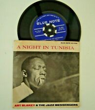 """60s BLUE NOTE 45-1796 ART BLAKEY & THE JAZZ MESSENGERS """"A NIGHT IN TUNISIA"""" RVG"""
