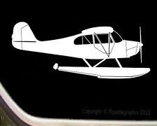 Aeronca Champ On Floats Airplane Pilot Decal SKA11