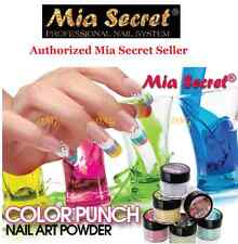 6 pcs Full Set Mia Secret ACRYLIC ART POWDER PUNCH COLLECTION MADE USA