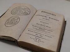 BUCH GÖTTERLEHRE ODER MYTHOLOGISCHE DICHTUNGEN DER ALTEN BERLIN 1816 MIT KUPFERN