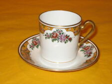 Coffee Cup & Saucer Limoges Porcelain & China