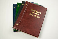 Blue Black Green Brown Red VST Coin Collection Album