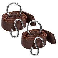 XXL Hammock tree straps set outdoor indoor garden camping swing travel hook new