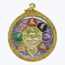 Thai Amulet Pendant Buddha Phra LP. So Thon Powerful Wealth Talisman Lucky Gift