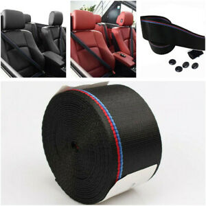 3.8M Safety Seat Belt Auto Accessories Fit for Car Vehicle Adjustable Harness
